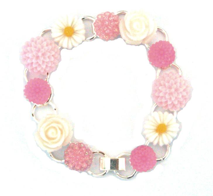 Make Your Own Bracelet Kit (Vintage Pink)