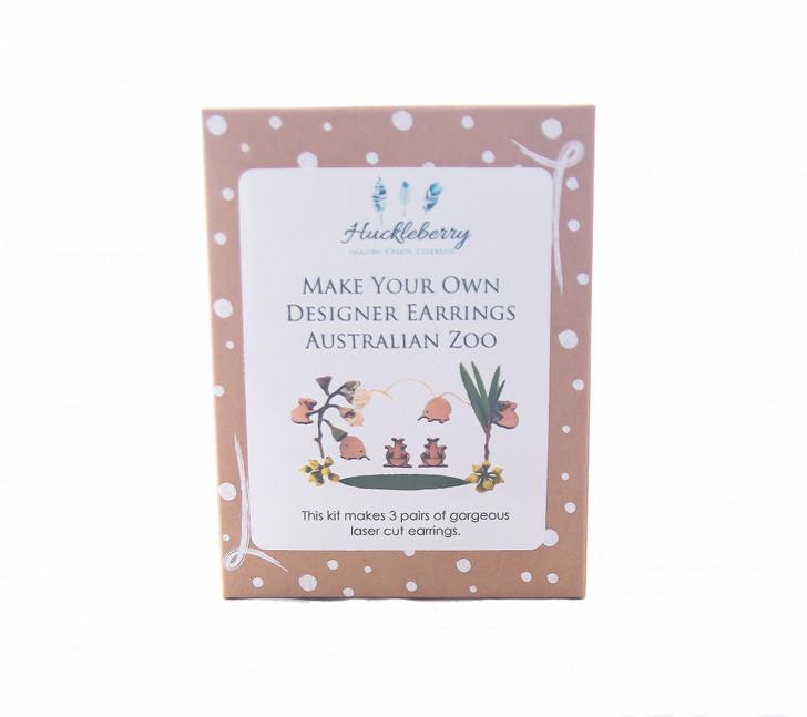 Make Your Own Designer Earrings - Australian Zoo