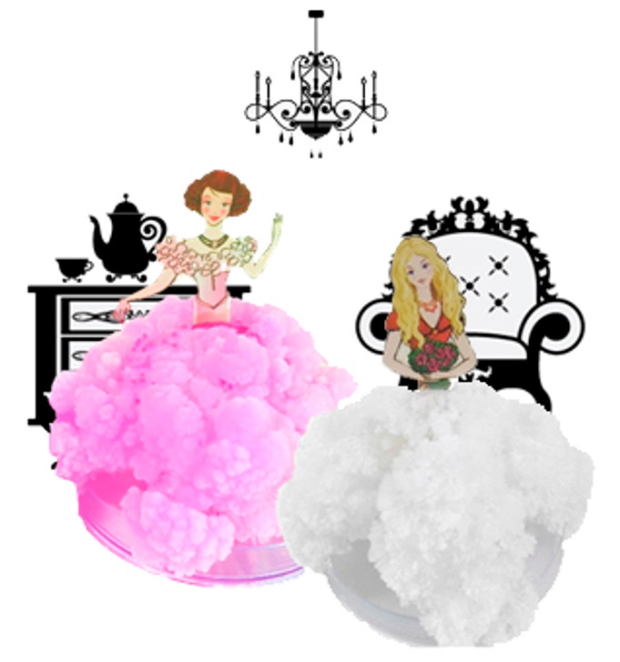 Make Your Own Crystal Princesses