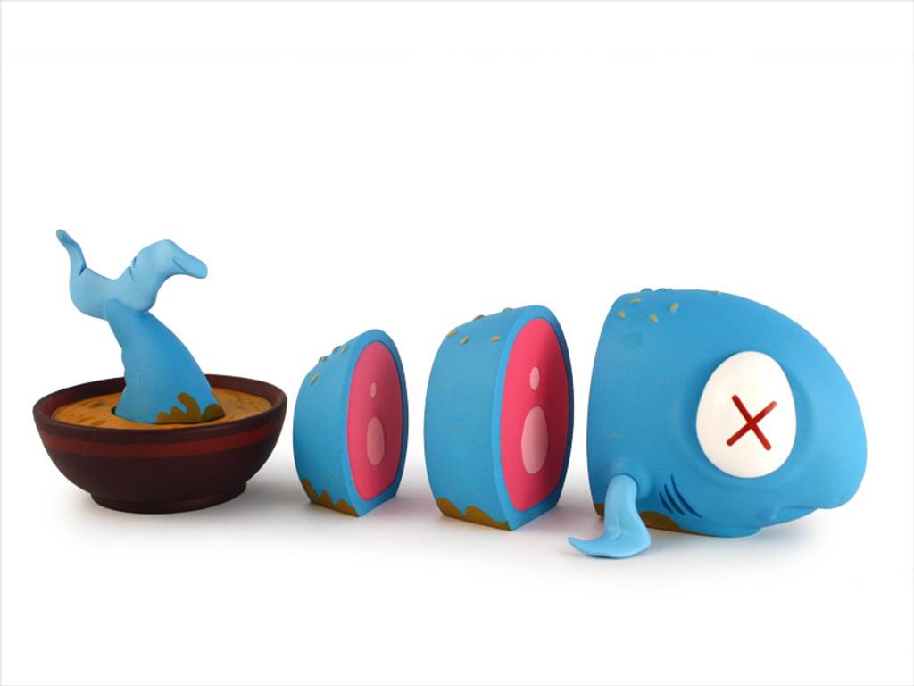 O-No Sashimi Toy: Blue Fin (signed)