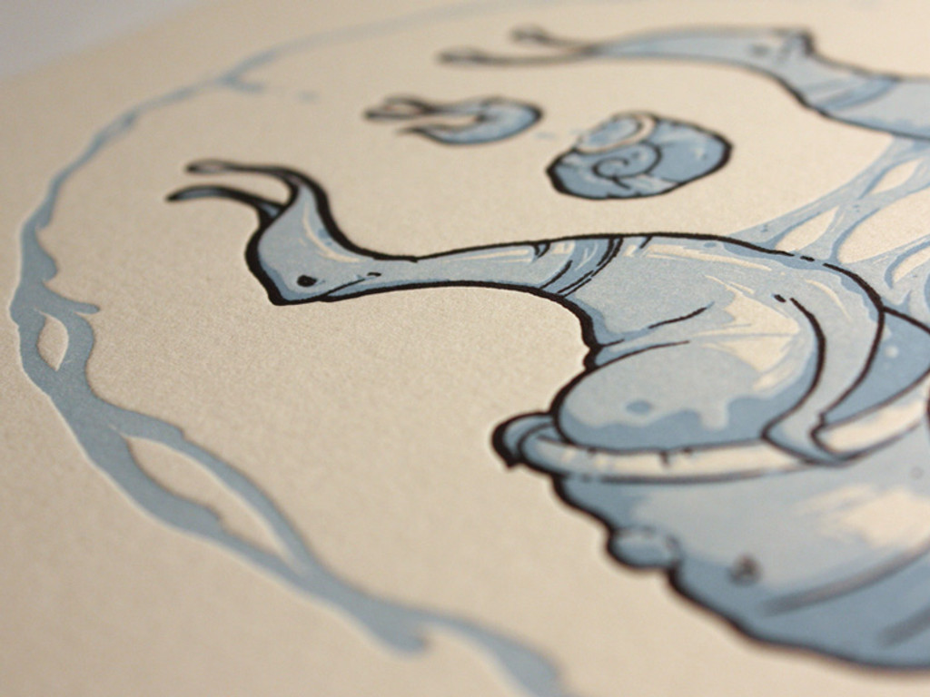 print detail