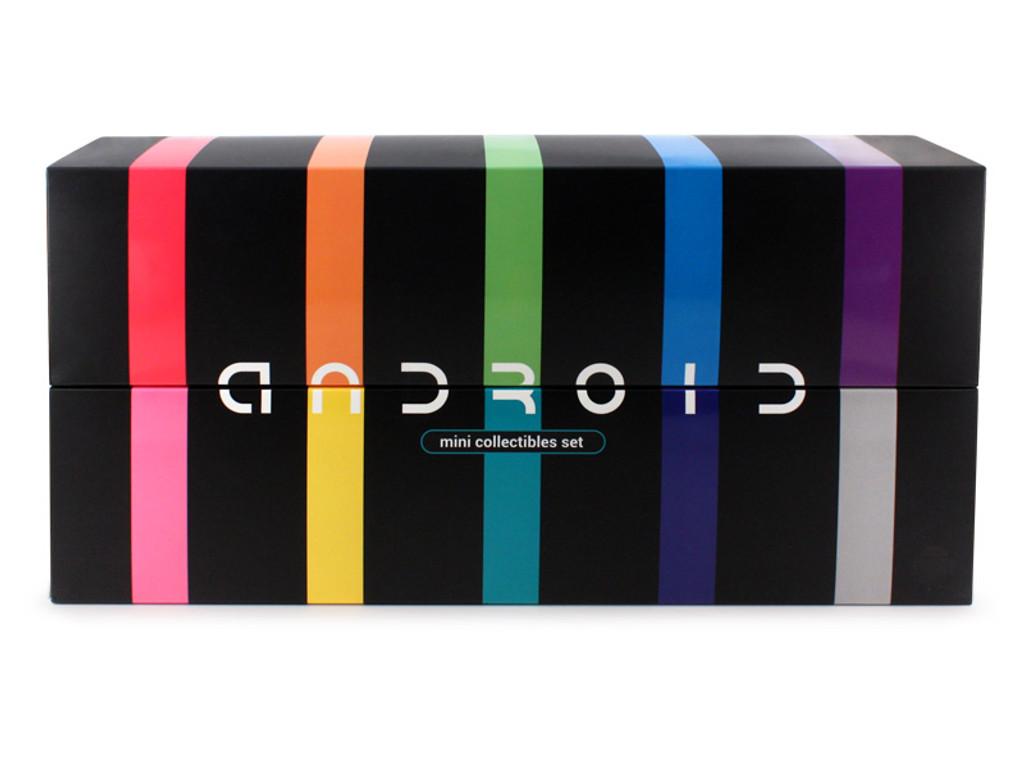 Android Mini Rainbow Set