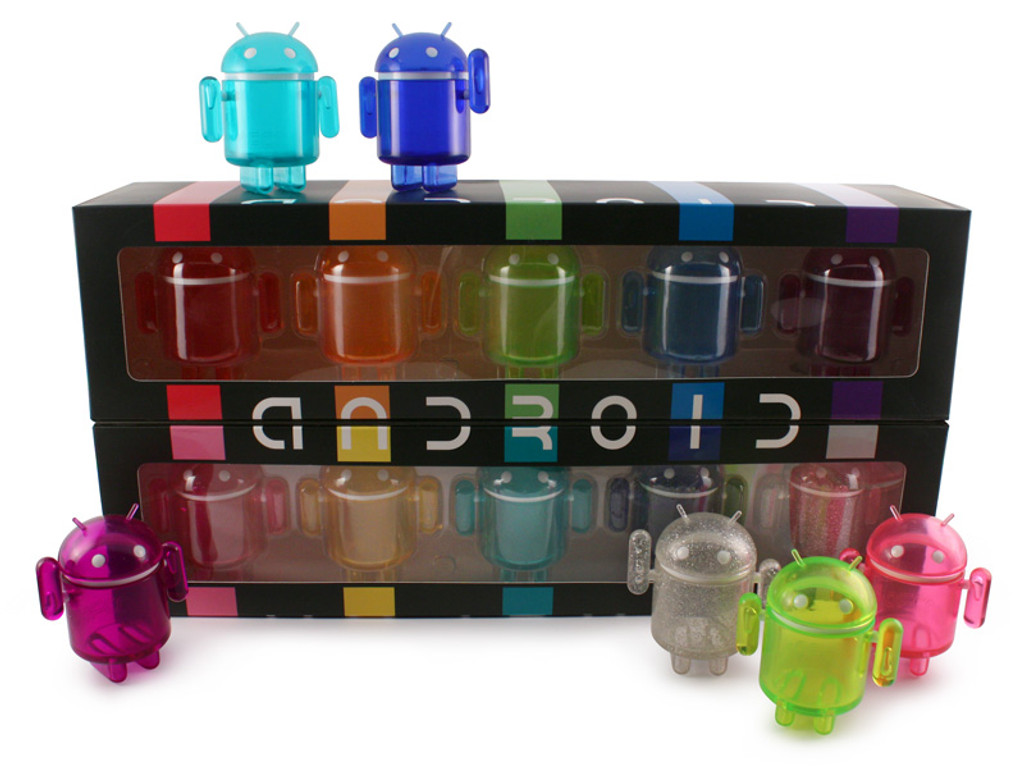 Android Mini Rainbow Set