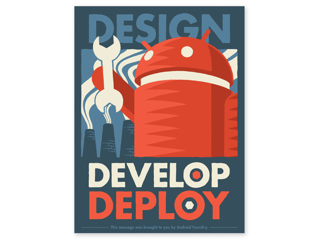 Design Develop Deploy Print