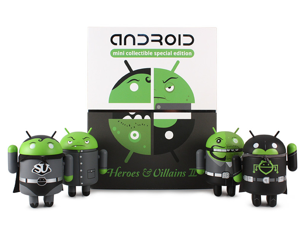 Android Heroes & Villains II Set