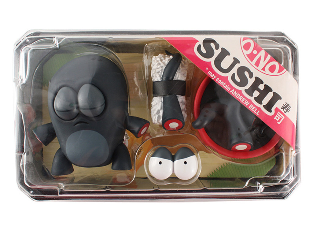 O-No Sushi vinyl set - Black