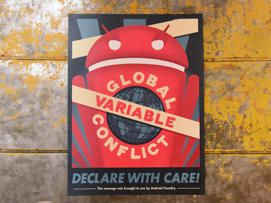 Global Variable Conflict Print