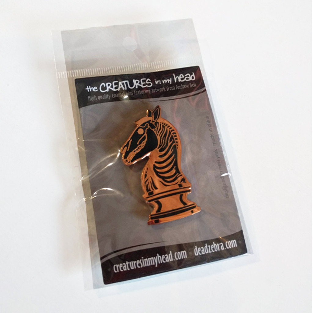 Last Knight Enamel Pin Bronze Edition