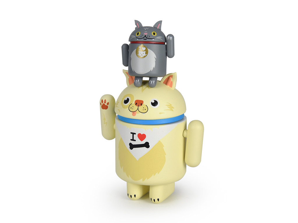 Android Mini Special Edition - I Love My Dog and Cat