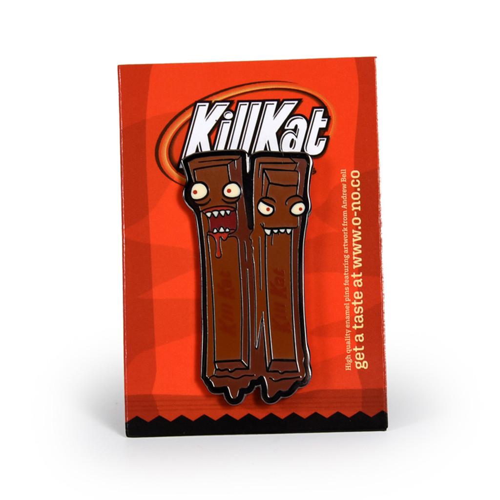 Kill Kat Original Enamel Pin