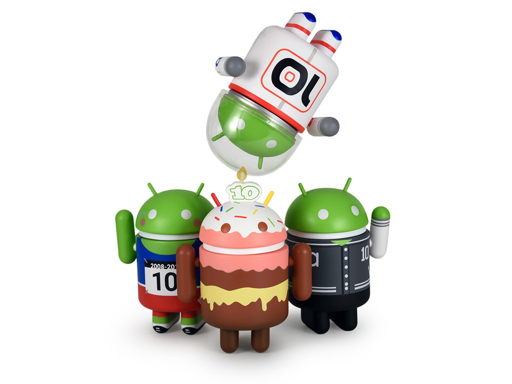 Android 10 Year Anniversary Set