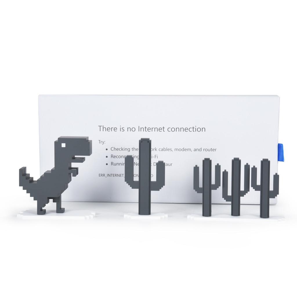 Chrome Dino Set