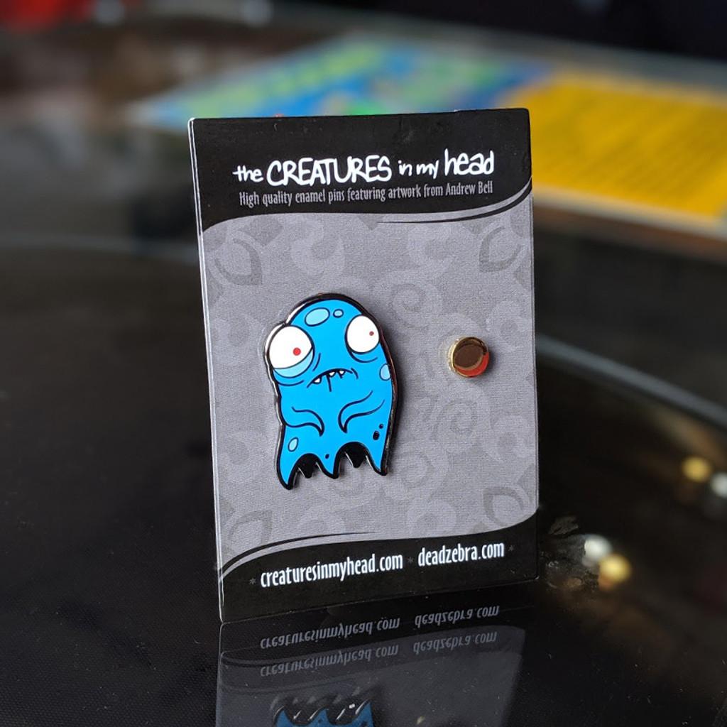 Scared Spirit Enamel Pin