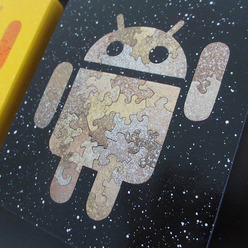 Hand-Cut Android  Baffler Puzzle