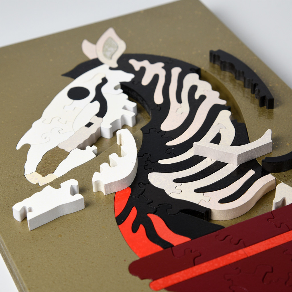 Hand-Cut Last Knight Baffler Puzzle