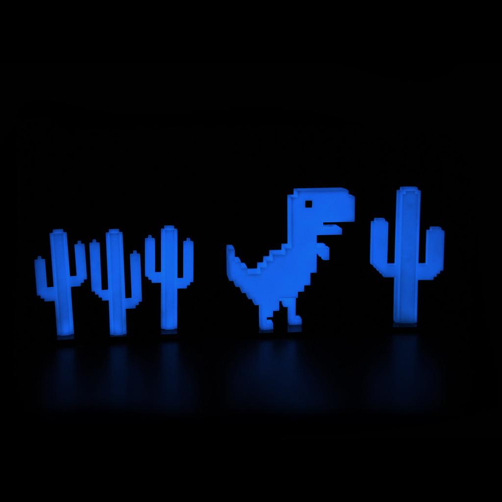 Chrome Dino Dark Mode Set