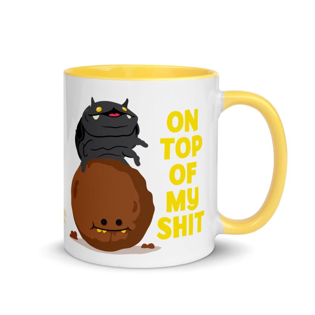 Dungby On Top of my Shit Mug
