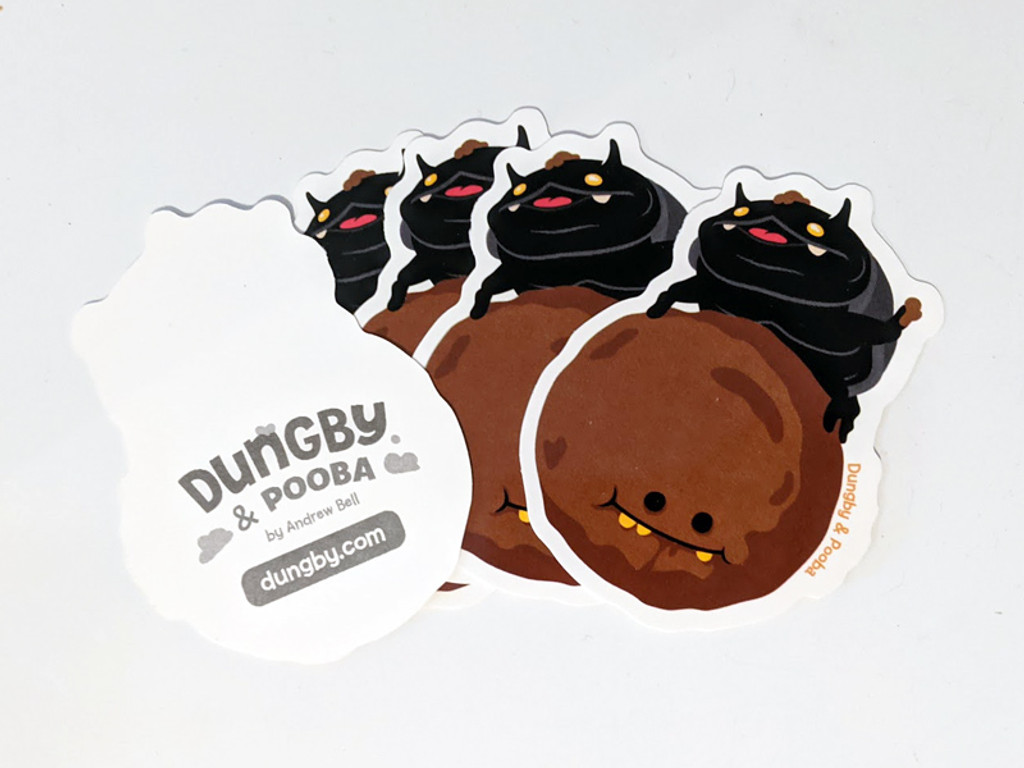 Dungby & Pooba Stickers