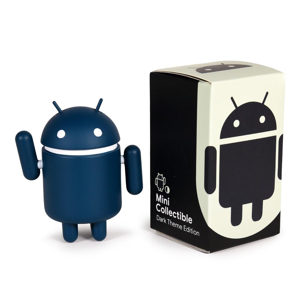 Android Mini Collectible - Dark Theme