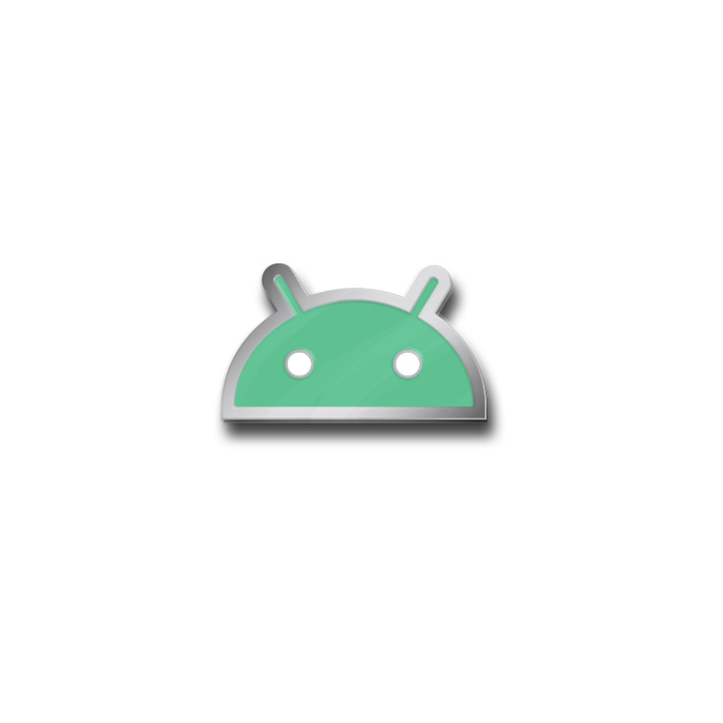 Android Head Pin