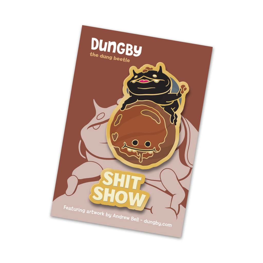 Dungby & Pooba Pin