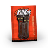 Kill Kat Dark Chocolate Enamel Pin