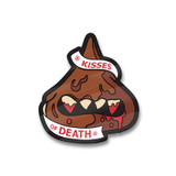 Kisses of Death Enamel Pin