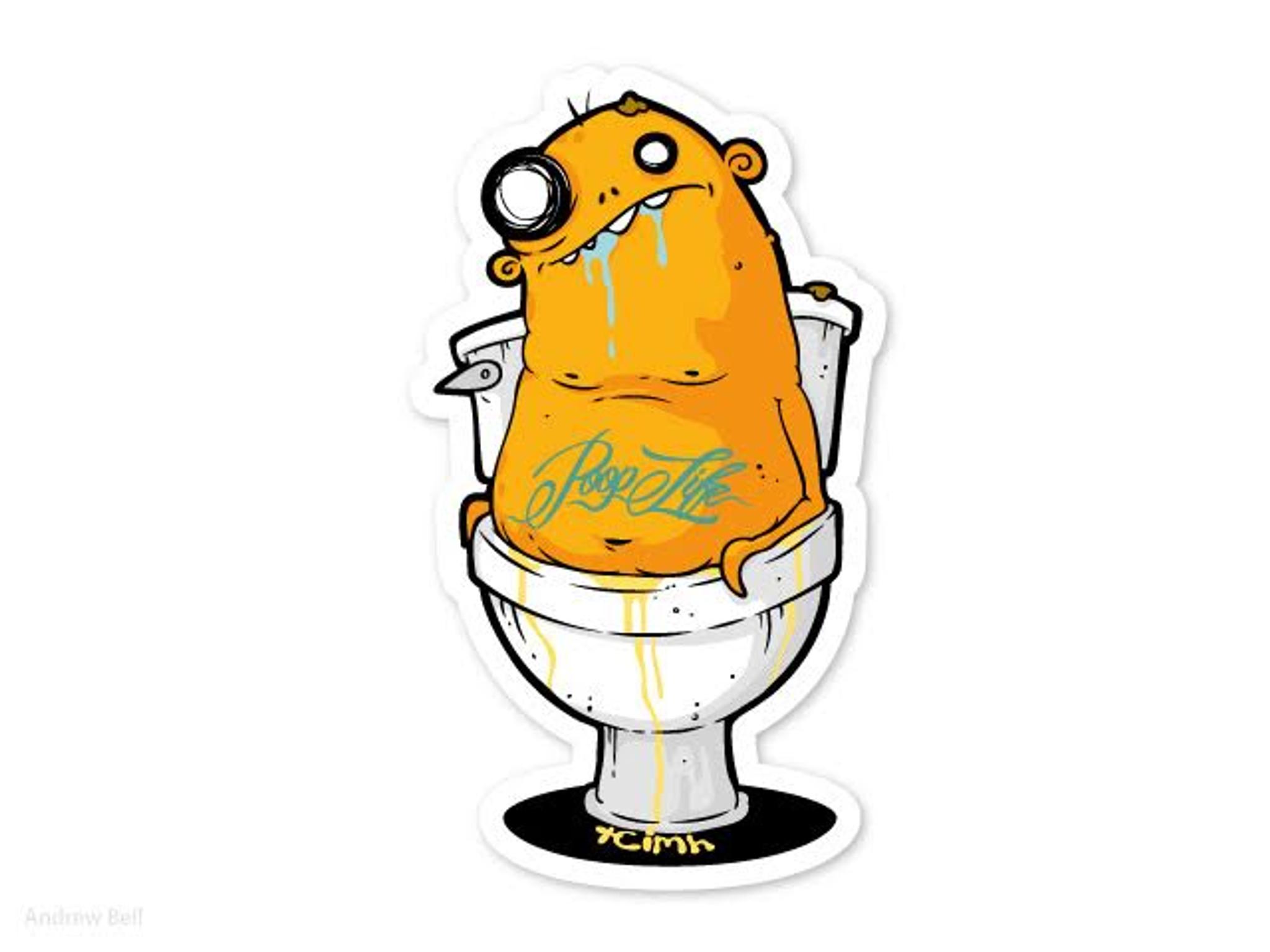 Poop Life Stickers