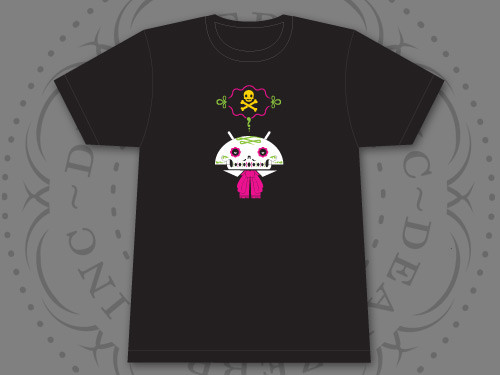 shirt design (front)