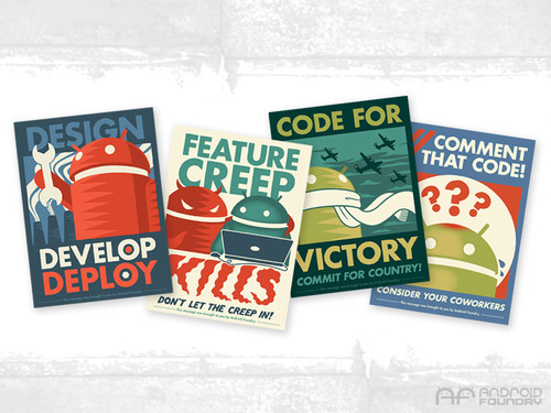 Android Foundry Progress Print Set