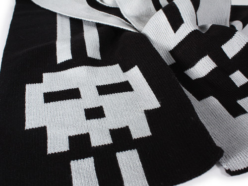 Pixel Skull Scarf