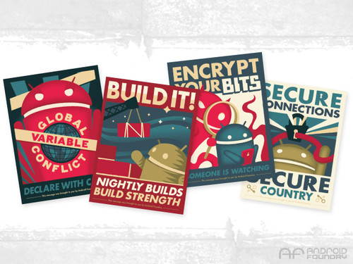 Android Foundry Progress Print Set 2