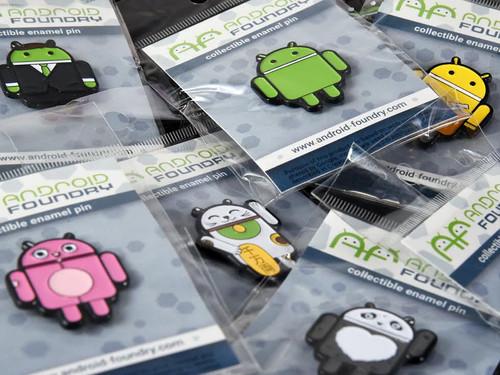 Android Pin Set (10 pcs)