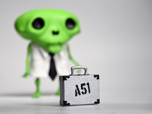 Karoshi San : Area 51 Edition