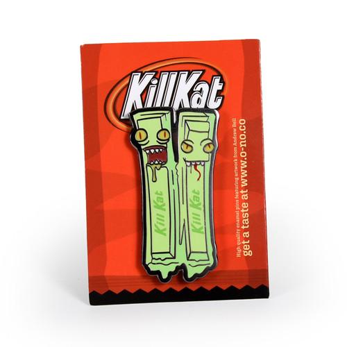 Kill Kat Green Tea Enamel Pin