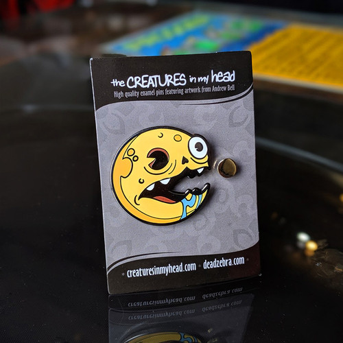 Dot Fiend Enamel Pin