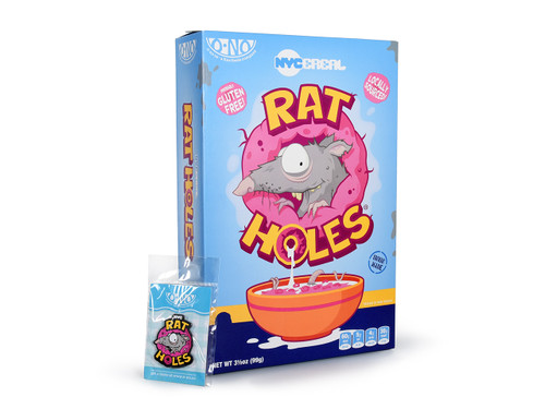 Rat Holes Box & Enamel Pin Set