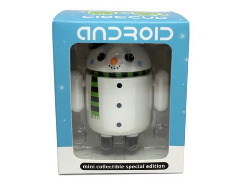 Snowman in box