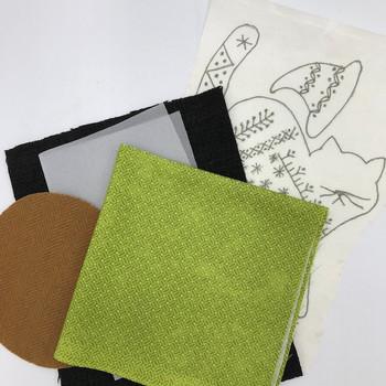 Spellbound Crazy Cat Fabric Kit