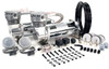 Providing 200PSI and a 100% duty cycle, VIAIR's 480C Dual Performance Value Pack is an ideal air source solution for any air suspension kit, industrial application, air horns or off-road pneumatic needs. Each Dual Pack includes two VIAIR 480C  Chrome  air compressors, two heavy duty 40-amp relays, a 165 PSI cut-on, 200 PSI cut-off pressure switch, and remote mount filter assemblies with mounting hardware.
