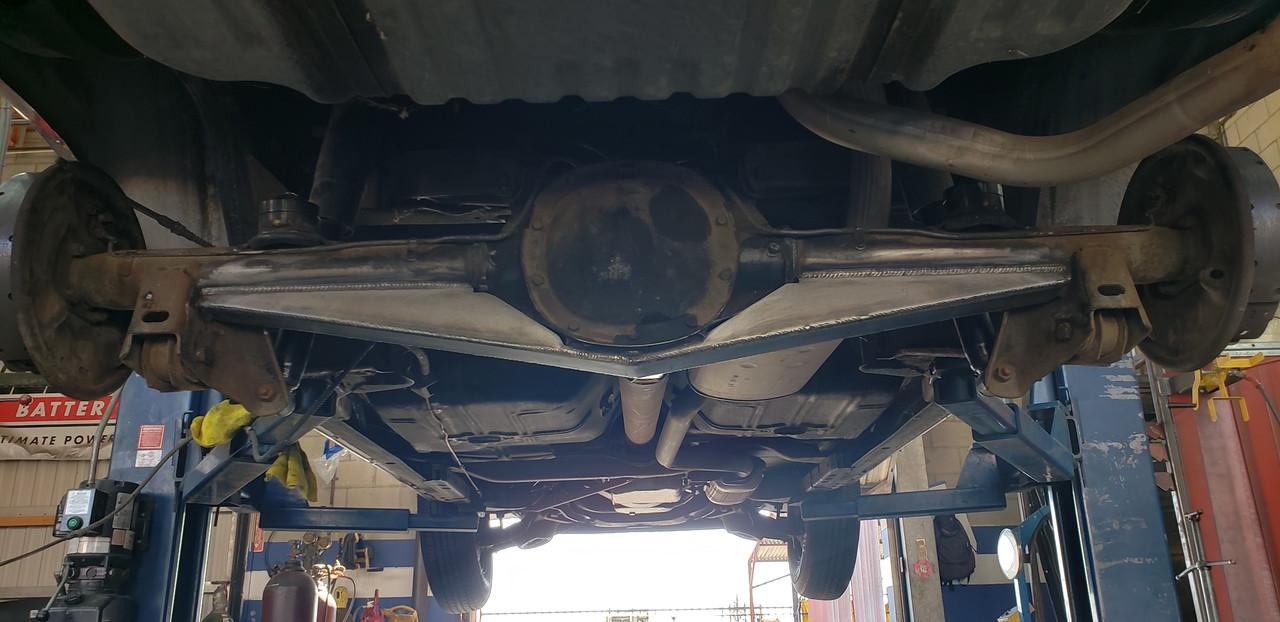 80's Cadillac axle wrap kit