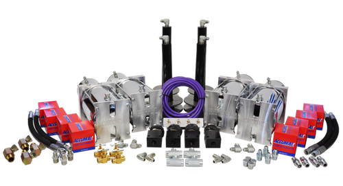 4 Pump Kit (w/ Black Cylinders & Shallow Cups)