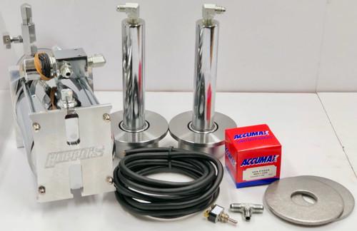 Back Hydraulic Kit w/(Chrome Cylinders & Deep Cups)