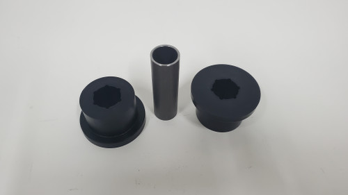 (2) Bushing and (1) inner sleeve only 1/2 or 5/8