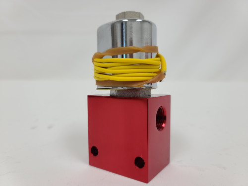 (RED) Dump  Anodized***(black , yellow, blue wire depending on stock)***