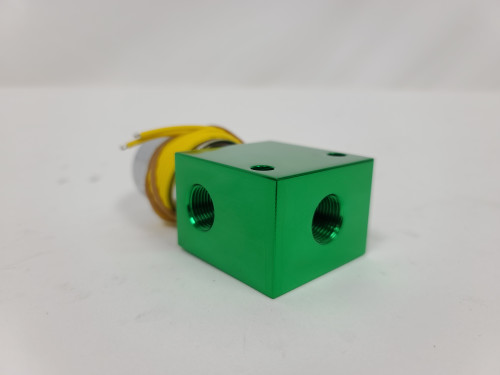 (GREEN) Dump  Anodized ***(black , yellow, blue wire depending on stock)***