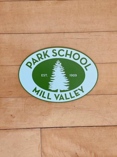 Park School Car Magnet