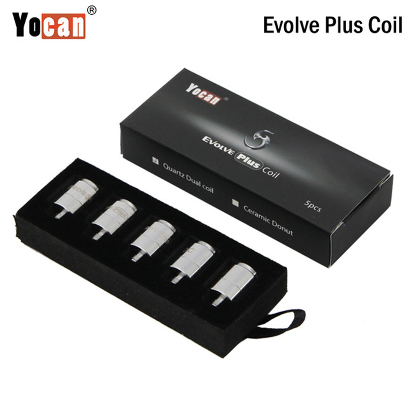 Yocan Evolve PLUS Dual Quartz Coils 5's Pack