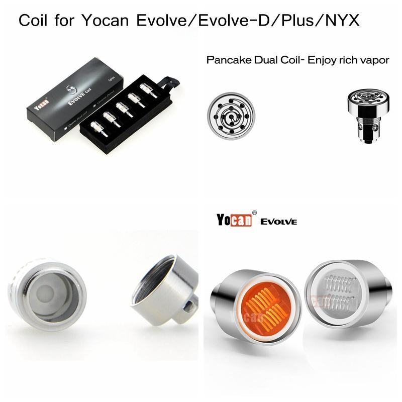 Yocan Evolve PLUS Ceramic Donut Coils 5's Pack