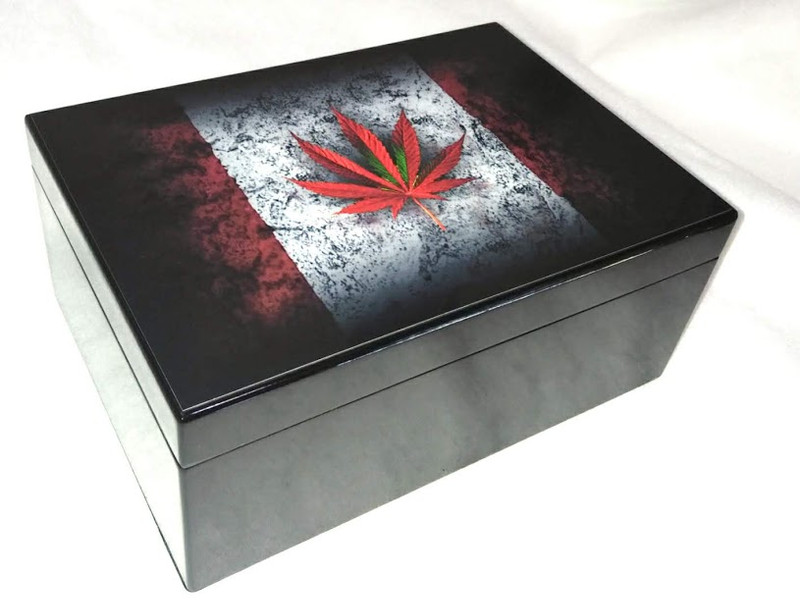 Humidor - O Cannabis Limited Edition, 50 ct...New!